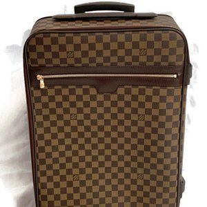 Authentic LOUIS VUITTON Damier Pegase 55 Luggage